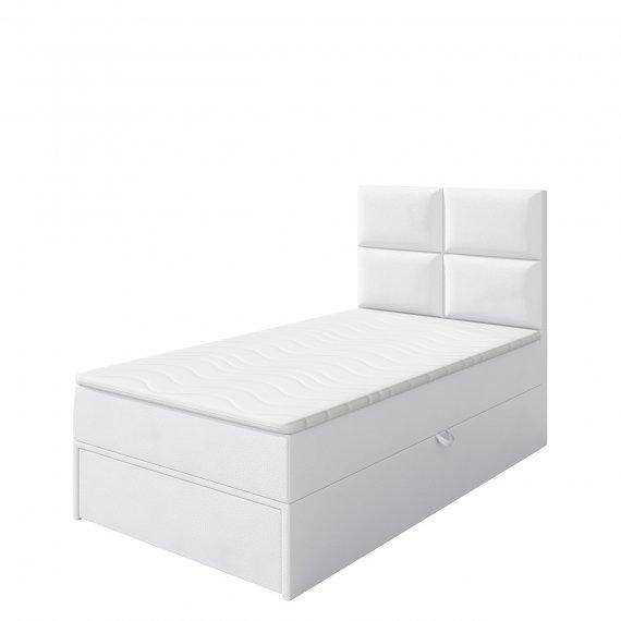 Łóżko kontynentalne jednoosobowe Hudson Lux 1