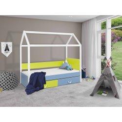 Łóżko dziecięce domek Fitonia 90