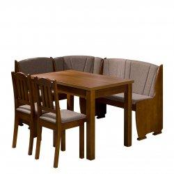 Narożnik kuchenny + stół z taboretami Platon