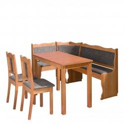 Narożnik kuchenny + stół z krzesłami Mexic III