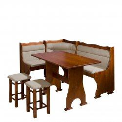 Narożnik kuchenny + stół z taboretami Porfiry