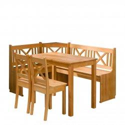 Narożnik kuchenny + stół z krzesłami Santiago