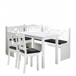 Narożnik kuchenny + stół z krzesłami Santiago 1