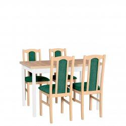 Stół rozkładany z 4 krzesłami - AL02
