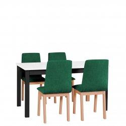 Stół rozkładany z 4 krzesłami - AL05