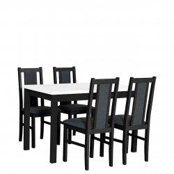 Stół rozkładany z 4 krzesłami - AL08