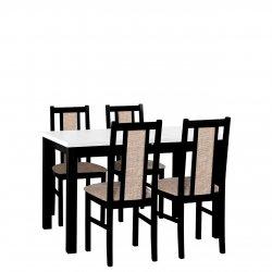 Stół rozkładany z 4 krzesłami - AL11