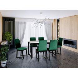 Stół rozkładany z 6 krzesłami - AL13