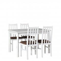 Stół rozkładany z 4 krzesłami - AL24