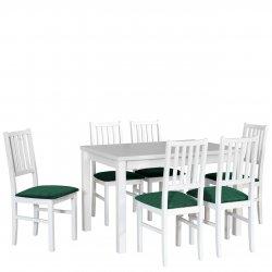 Stół rozkładany z 6 krzesłami - AL19