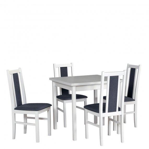Stół rozkładany z 4 krzesłami - AL27