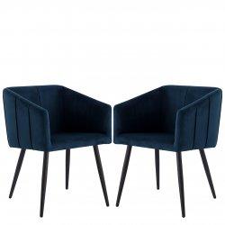 Komplet dwóch nowoczesnych foteli Archie 226