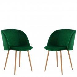 Komplet dwóch nowoczesnych krzeseł Archie 420-3