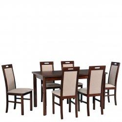 Stół z 6 krzesłami AL35