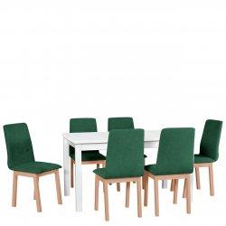 Stół z 6 krzesłami - AL37