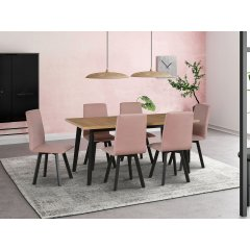 Stół z 6 krzesłami - AL44
