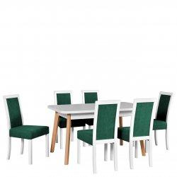 Stół rozkładany z 6 krzesłami - AL49