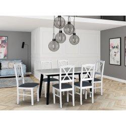 Stół rozkładany z 6 krzesłami - AL50