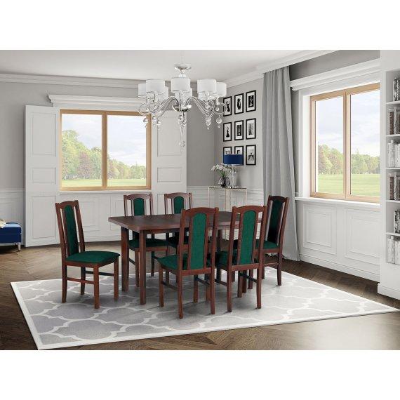 Stół z 6 krzesłami - AL77