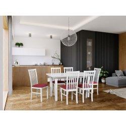 Stół z 6 krzesłami - AL61