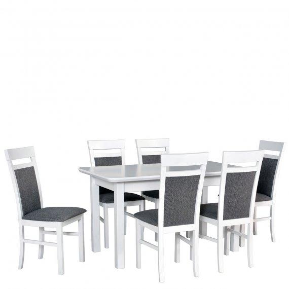 Stół z 6 krzesłami - AL63