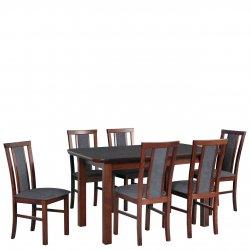 Stół z 6 krzesłami - AL65