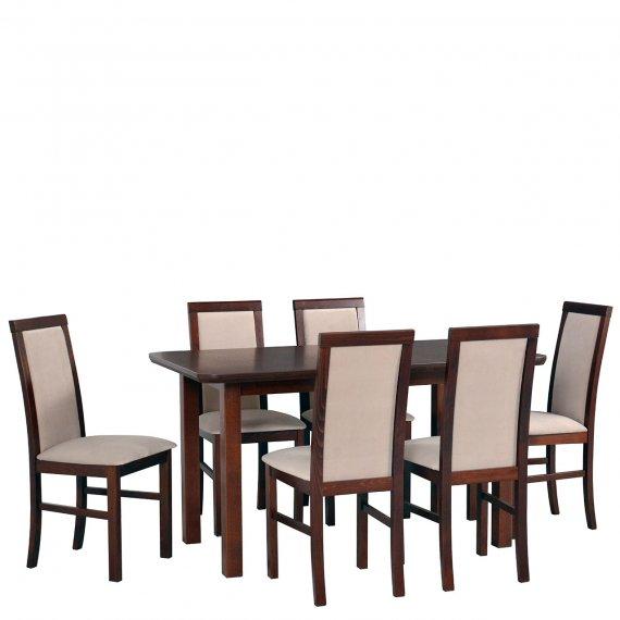 Stół z 6 krzesłami - AL66