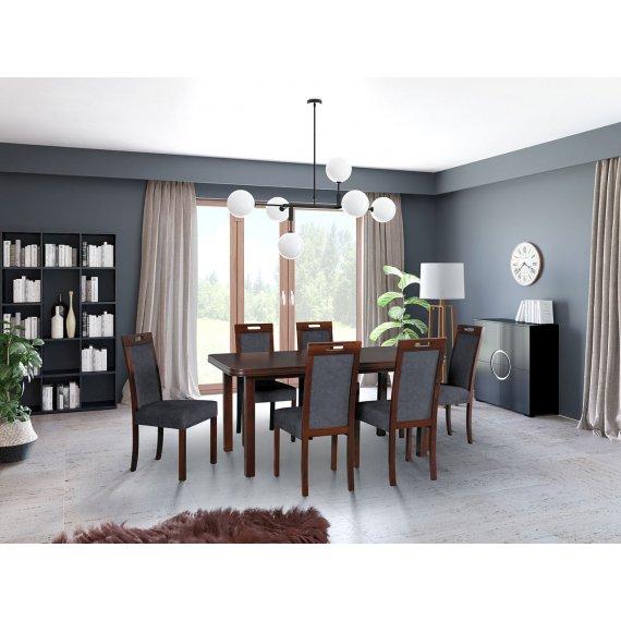 Stół i krzesła dla 6 osób - AL69