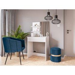Nowoczesne biurko i toaletka Luiza