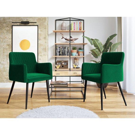 Komplet dwóch nowoczesnych foteli Archie 110