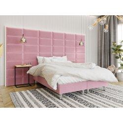 Łóżko tapicerowane Estelle-Baza