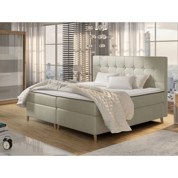 Łóżko kontynentalne Crete
