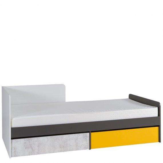 Łóżko młodzieżowe z materacem Runo RU07