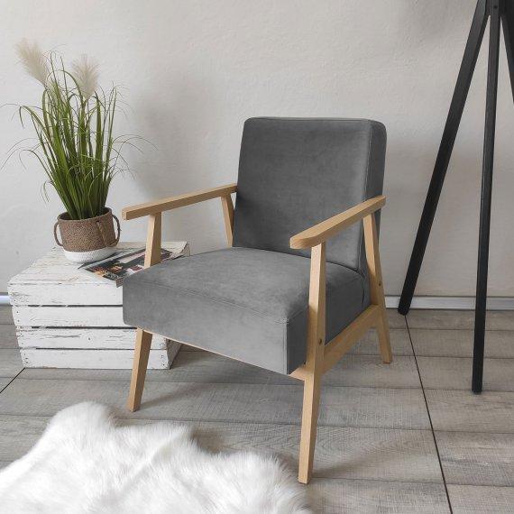 Fotel wypoczynkowy Pawiva