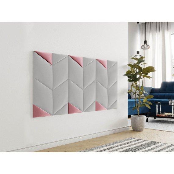 Panel ścienny tapicerowany trójkąt Bag I DL / DP