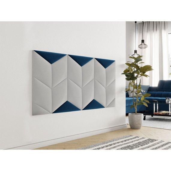 Panel ścienny tapicerowany trójkąt Bag II