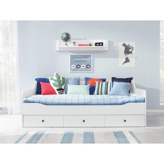Łóżko młodzieżowe z szufladami na pościel Degory DG13