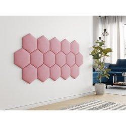 """Panel ścienny tapicerowany """"plaster miodu"""" Lok"""