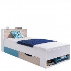 Łóżko z szufladą na pościel Legimi LG14 L / P