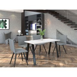 Stół industrialny Klaudian 138x67