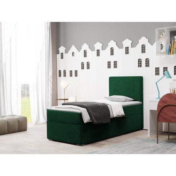 Łóżko kontynentalne jednoosobowe Kloto
