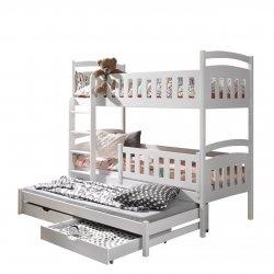 Łóżko piętrowe Asopus 90