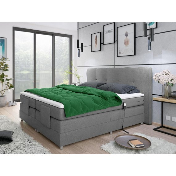 Łóżko elektryczne dwuosobowe Fawila