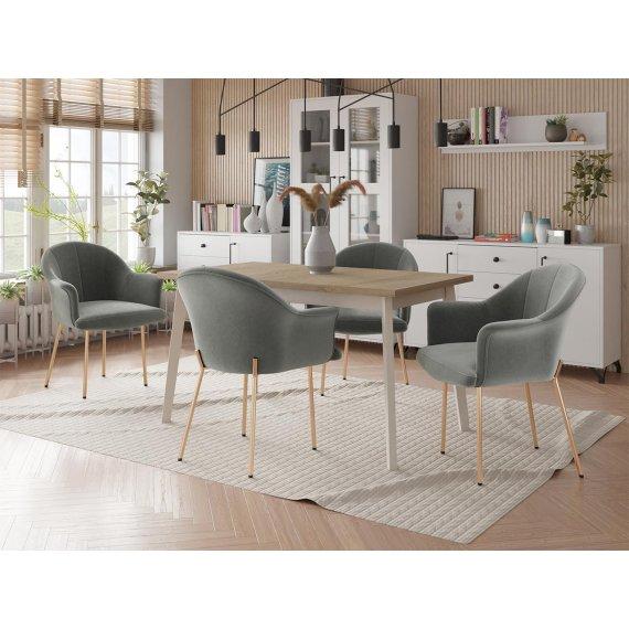 Krzesło tapicerowane Sydonik