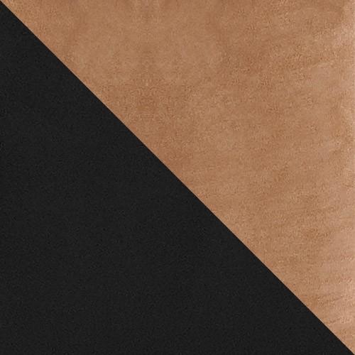 czarny / jasny brąz