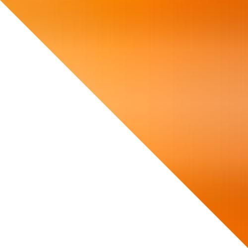 biały / pomarańcz połysk