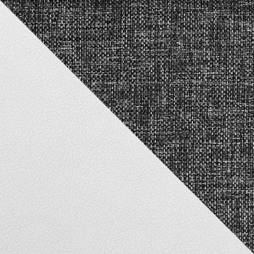 ekoskóra Soft 017 (biała) + Kongo 730