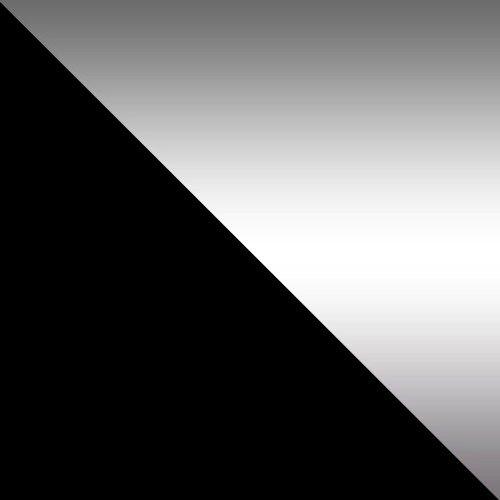 czarny / lustro