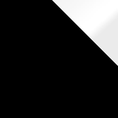 czarny / czarny + białe wstawki połysk