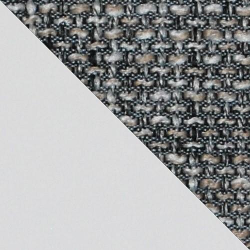 ekoskóra Soft 017 (biała) + Lawa 05